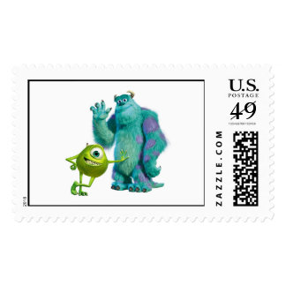 Monsters Inc. Mike and Sulley Postage