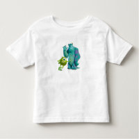 Monsters Inc. Mike and Sulley Toddler T-shirt