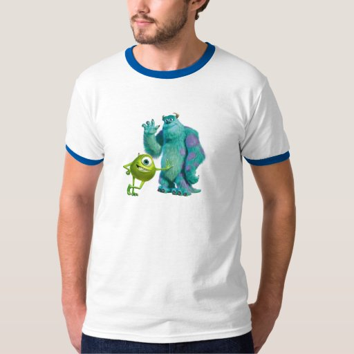 Monsters Inc. Mike y Sulley Playeras