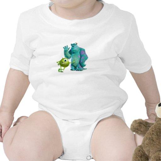 Monsters Inc. Mike y Sulley Trajes De Bebé