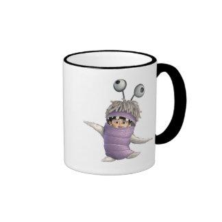 Monsters Inc.'s Boo in Costume Ringer Coffee Mug