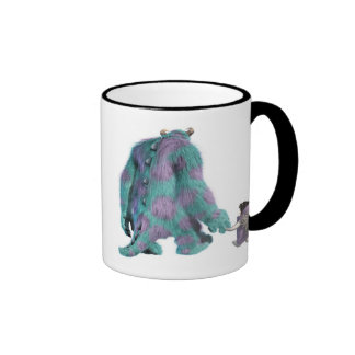 Monsters Inc s Boo Sulley walking away Disney Coffee Mugs