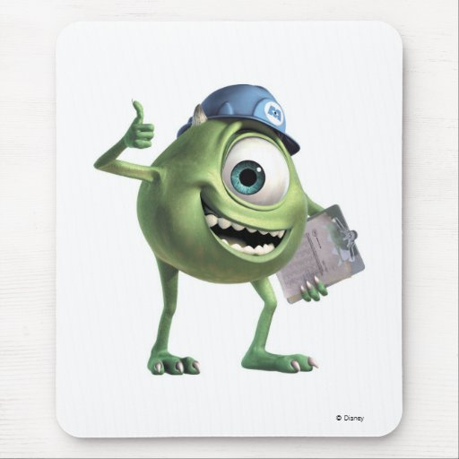 Monsters, Inc.'s Mike Thumbs Up Disney Mouse Pad