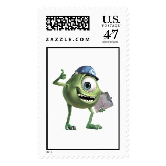 Monsters, Inc.'s Mike Thumbs Up Disney Postage Stamp
