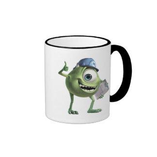 Monsters, Inc.'s Mike Thumbs Up Disney Ringer Mug