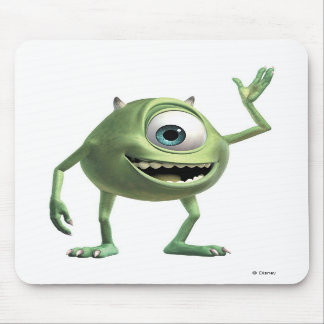 Monsters, Inc.'s Mike Waving Disney Mouse Pads