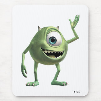 Monsters, Inc.'s Mike Waving Disney Mouse Pad