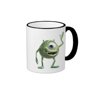 Monsters, Inc.'s Mike Waving Disney Ringer Coffee Mug