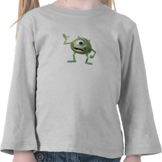 Monsters, Inc.'s Mike Waving Disney T-shirts