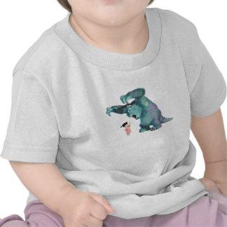 Monsters Inc Sulley asustan el abucheo Disney Camisetas