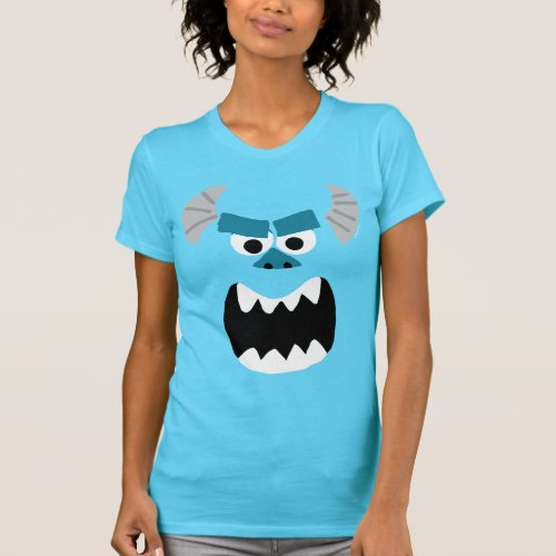 Monsters Inc  Sulley Face T_Shirt