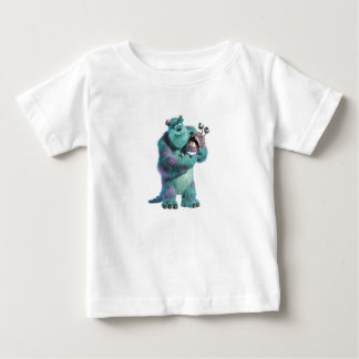 Monsters Inc Sulley holding Boo in costume in arms Baby T-Shirt