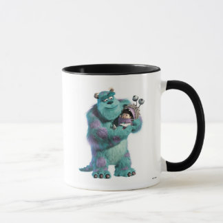 Monsters Inc Sulley holding Boo in costume in arms Mug