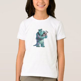 Monsters Inc Sulley holding Boo in costume in arms T-Shirt