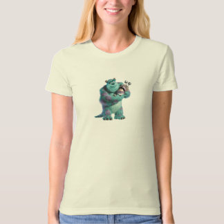 Monsters Inc Sulley holding Boo in costume in arms T Shirt