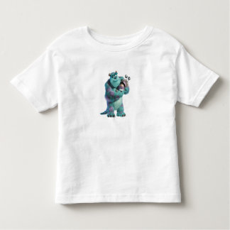 Monsters Inc Sulley holding Boo in costume in arms Tee Shirt