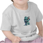 Monsters Inc Sulley holding Boo in costume in arms T Shirts