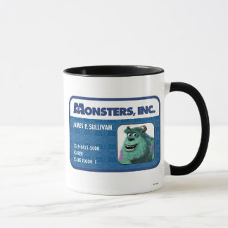 Monsters Inc. Sulley ID card Mug