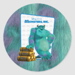 Monsters, Inc. Sulley Round Sticker