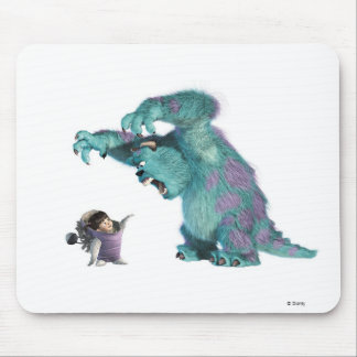 Monsters, Inc. Sulley scaring Boo Disney Mouse Pad