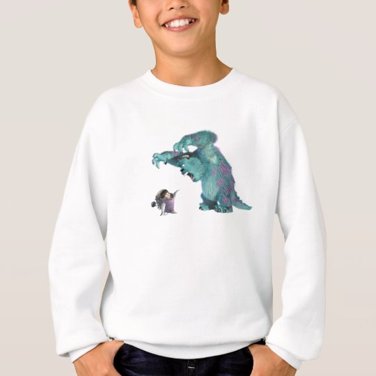 Monsters, Inc. Sulley scaring Boo Disney Sweatshirt