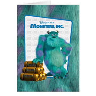 Monsters, Inc. Sulley Tarjeta De Felicitación