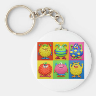 Monsters Keychain