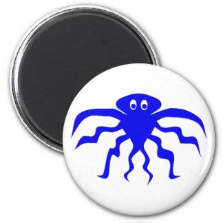 Monsters Krake kraken 2 Inch Round Magnet