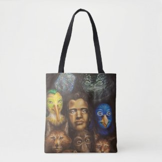 Monsters Like Me cover art shoulder bag
