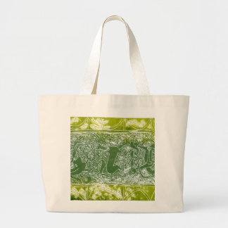 Monsters of Aberlamno Large Tote Bag