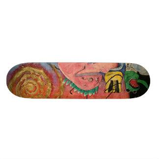 Monster's On My Mind Custom Skate Board