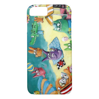 Monsters on the Beach iPhone 7 Case