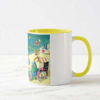 Monsters on the Beach Mug