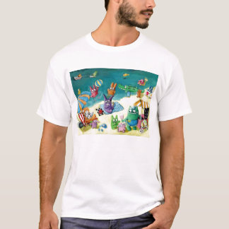 Monsters on the Beach T-Shirt