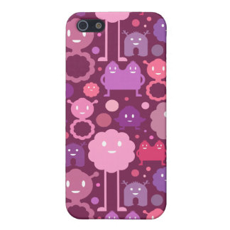 Monsters on the Loose! - Pinks Case For iPhone 5/5S