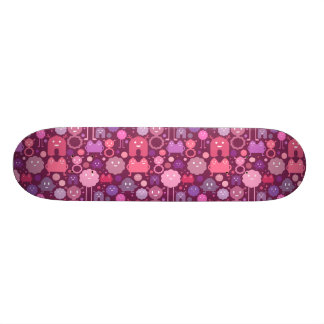 Monsters on the Loose! - Pinks Custom Skate Board