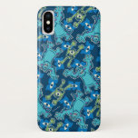 Monsters Pattern iPhone X Case