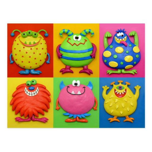 Monsters Post Cards