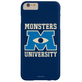 Monsters University Blue Logo Barely There iPhone 6 Plus Case