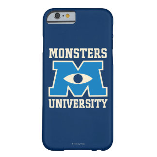 Monsters University Blue Logo Barely There iPhone 6 Case