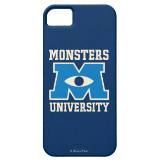Monsters University Blue Logo iPhone 5 Case