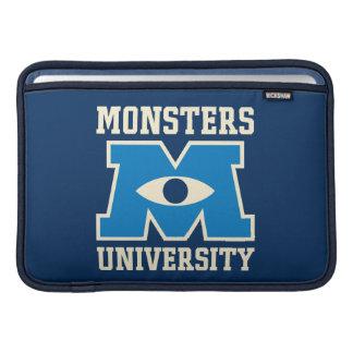 Monsters University Blue Logo MacBook Sleeve