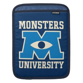 Monsters University Blue Logo Sleeve For iPads