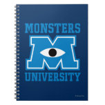 Monsters University Blue Logo Spiral Notebooks