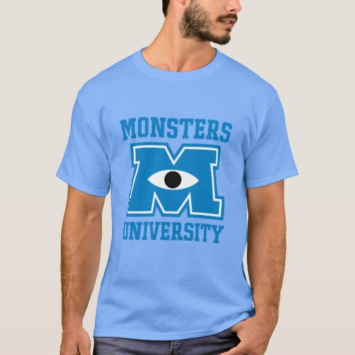 Monsters University Blue Logo T-Shirt