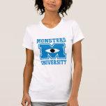 Monsters University Blue Logo T-shirts