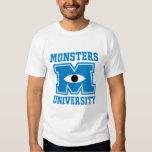Monsters University Blue Logo T Shirts