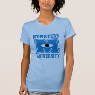 Monsters University Blue Logo Tees
