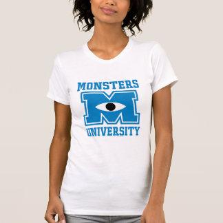 Monsters University Blue Logo Tshirts