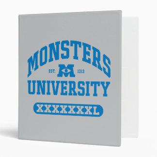 Monsters University - Est. 1313 Binder